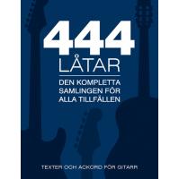 444 Låtar - Gitarr