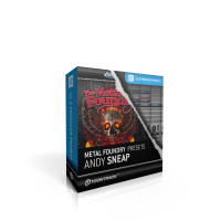Toontrack Superior 2.0 Metal Foundry Presets - Andy Sneap