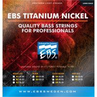 EBS Titanium Nickel Classic Medium 45, 65, 85, 105