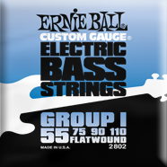 Ernie Ball - Bass Flatwound Nickel Firm 055-110 EB-2802