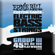 Ernie Ball - Bass Flatwound Nickel Semi-flex 045-100