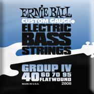 Ernie Ball - Bass Flatwound Nickel Flex 040-095 EB-2808