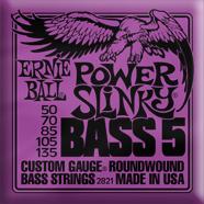 Ernie Ball - Bass 5-strängad Roundwound Nickel Power Slinky 050 - 135