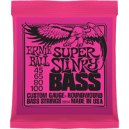 Ernie Ball - Bass Roundwound Nickel Super Slinky Wound 045 - 100 EB-2834